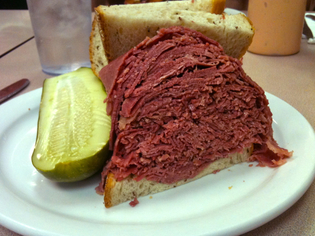 Thumbnail image for Slyman's Corned Beef Sandwich